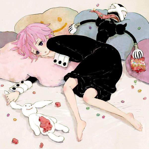 Tags: Anime, Nora0x0, SOUL EATER, Ragnarok (SOUL EATER), Crona, Jelly Beans, Fanart