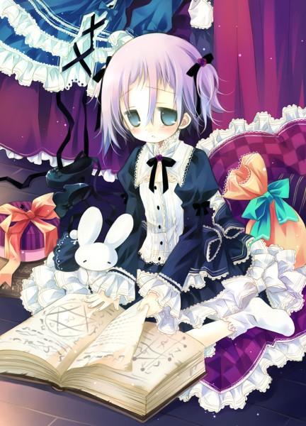 Tags: Anime, Sakurazawa Izumi, SQUARE ENIX, SOUL EATER, Crona, Blank Stare, Heart Pillow, Doujinshi Cover, Pixiv, Fanart, Mobile Wallpaper