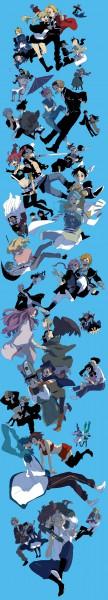 Tags: Anime, Tomo, Studio Ghibli, Fullmetal Alchemist, Axis Powers: Hetalia, Fullmetal Alchemist Brotherhood, Eureka Seven, Gintama, Howl no Ugoku Shiro, Tales of Graces, BLEACH, VOCALOID, Gyakuten Saiban