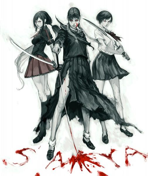 Tags: Anime, Masateru, Blood-C, Blood+, Blood: The Last Vampire, Saya (Blood: The Last Vampire), Otonashi Saya, Kisaragi Saya, Characteristic Connection, deviantART