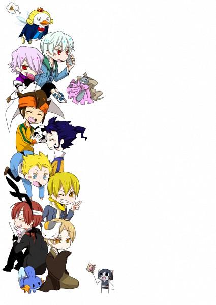 Tags: Anime, Pixiv Id 2445827, Pandora Hearts, Natsume Yuujinchou, Kimi to Boku., Inu x Boku SS, DURARARA!!, Mirai Nikki, Yondemasuyo Azazel-san, Pokémon, Inazuma Eleven GO, Inazuma Eleven, Beelzebub (Yondemasuyo Azazel-san)