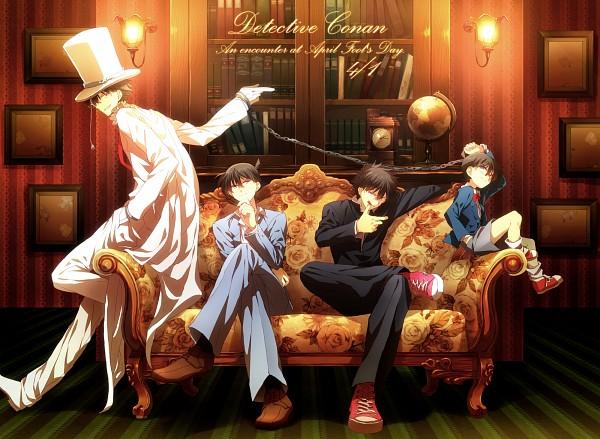 Tags: Anime, Abaraya, Meitantei Conan, Magic Kaito, Kaitou Kid, Edogawa Conan, Kuroba Kaito, Kudou Shinichi, Pixiv, Fanart