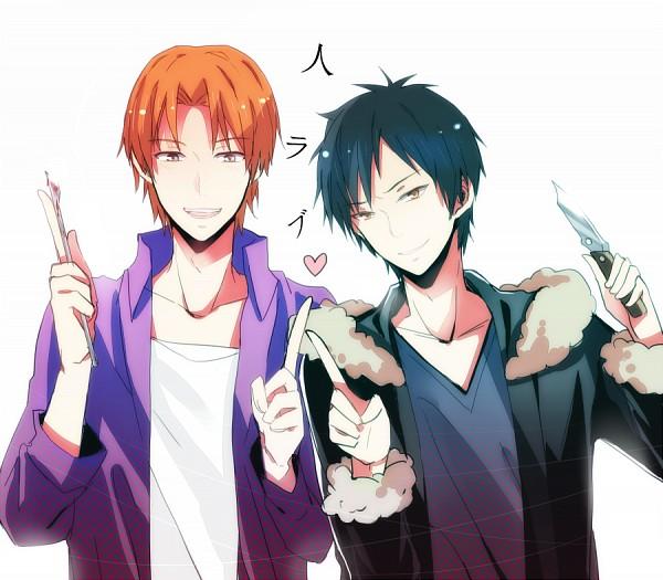Tags: Anime, Pixiv Id 4554021, Fate/zero, DURARARA!!, Orihara Izaya, Uryuu Ryuunosuke, Operation Knives