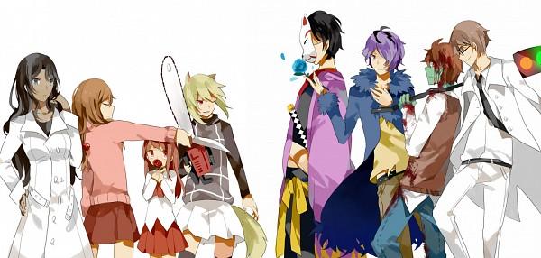 Tags: Anime, Getiao, To The Moon, Yume Nikki, Yume 2kki, Ib, Shitaisan, Yukata (Yume 2kki), Madotsuki, Ib (Character), Garry, Eva Rosalene, Urotsuki