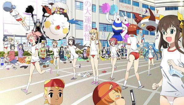 Tags: Anime, Nichijou, Yuru Yuri, Mahou Shoujo Madoka☆Magica, Infinite Stratos, K-ON!, Blood-C, Shinryaku! Ikamusume, Boku wa Tomodachi ga Sukunai, Kamen Rider Fourze, Yondemasuyo Azazel-san, VOCALOID, Shin Megami Tensei: PERSONA 4