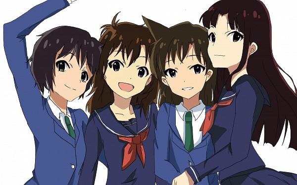 Tags: Anime, Pixiv Id 3630121, Meitantei Conan, Magic Kaito, Mouri Ran, Koizumi Akako, Nakamori Aoko, Sera Masumi, THE iDOLM@STER (Parody), HD Wallpaper, Fanart From Pixiv, Wallpaper, Fanart