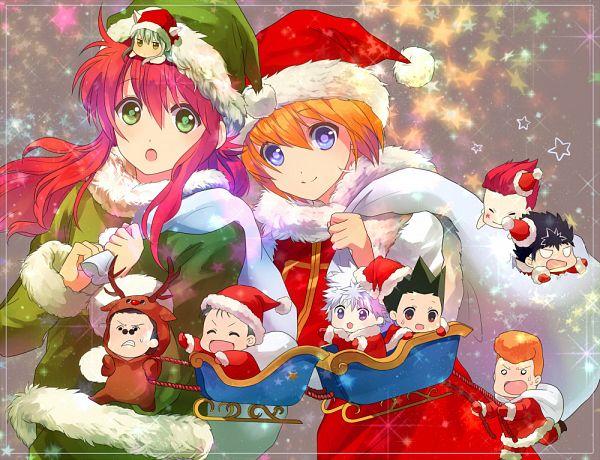 Tags: Anime, Ouri, Yu Yu Hakusho, Hunter x Hunter, Kurapika, Kuwabara Kazuma, Youko Kurama, Killua Zoldyck, Hiei, Hisoka, Leorio Paladiknight, Kurama, Urameshi Yuusuke