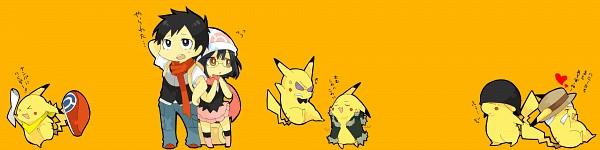 Tags: Anime, Pixiv Id 413831, DURARARA!!, Pokémon, Sonohara Anri, Pikachu, Ryuugamine Mikado, Rokujo Chikage (Cosplay), Kouki (Pokémon) (Cosplay), Heiwajima Shizuo (Cosplay), Hikari (Pokémon) (Cosplay), Orihara Izaya (Cosplay), Kadota Kyohei (Cosplay)