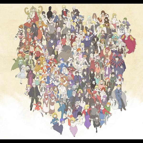 Tags: Anime, Tamago (Pixiv17968), Fate/zero, Fate/strange fake, Fate/Prototype, Fate/Apocrypha, Kara no Kyoukai, Fate/EXTRA, Mahou Tsukai no Yoru, Fate/hollow ataraxia, Tsukihime, Fate/stay night, Bazett Fraga McRemitz