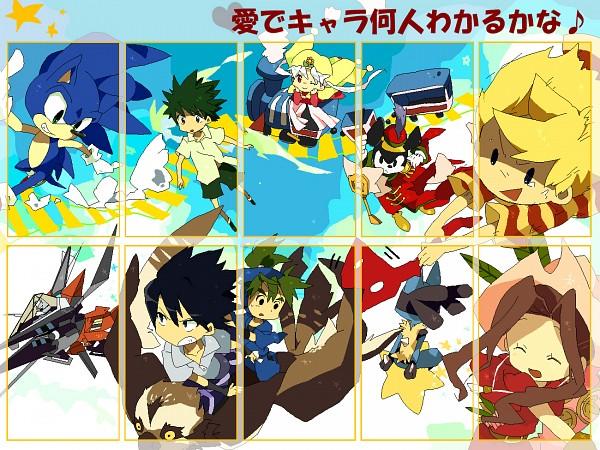 Tags: Anime, Bukiko, Rakudai Ninja Rantarou, Digimon Adventure, Earthbound, Sonic the Hedgehog, NARUTO, Pokémon, Lucas, Lillymon, Tachikawa Mimi, Lucario, Sonic the Hedgehog (Character)
