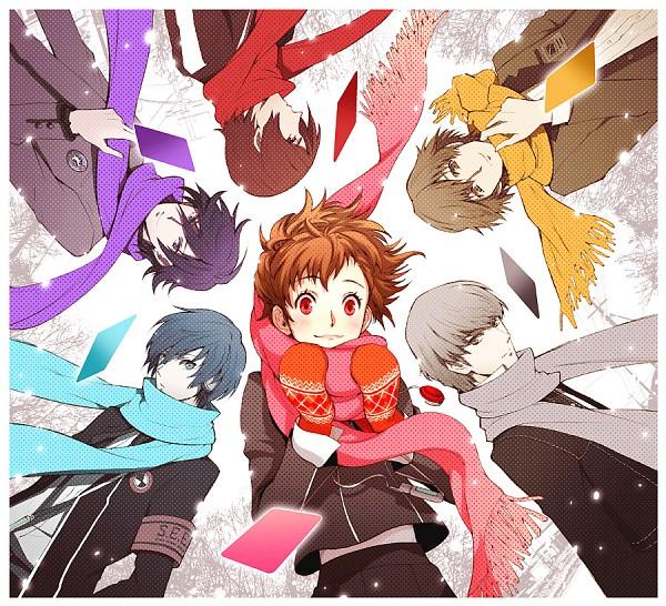 Tags: Anime, Pixiv Id 395630, Persona - Trinity Soul, Persona 3 Portable, Shin Megami Tensei: Persona, SHIN MEGAMI TENSEI: PERSONA 2, Shin Megami Tensei: PERSONA 3, Shin Megami Tensei: PERSONA 4, Female Protagonist (PERSONA 3), Yuuki Makoto (PERSONA 3), Narukami Yu, Naoya Toudou, Kanzato Shin