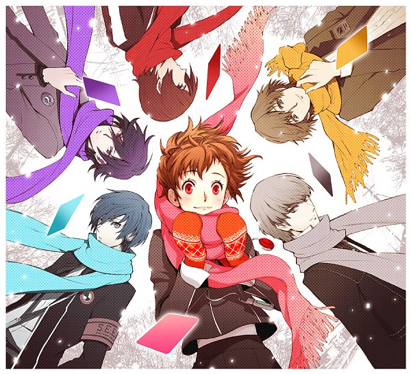 Tags: Anime, Pixiv Id 395630, Persona - Trinity Soul, Persona 3 Portable, Shin Megami Tensei: Persona, SHIN MEGAMI TENSEI: PERSONA 2, Shin Megami Tensei: PERSONA 4, Shin Megami Tensei: PERSONA 3, Suou Tatsuya, Female Protagonist (PERSONA 3), Yuuki Makoto (PERSONA 3), Narukami Yu, Naoya Toudou