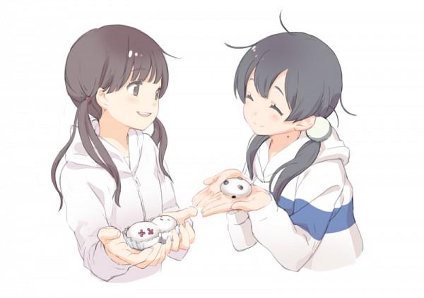 Tags: Anime, Comet (Artist), Tamako Market, Sangatsu no Lion, Kawamoto Hinata, Kitashirakawa Tamako, Fanart, Fanart From Pixiv, Pixiv