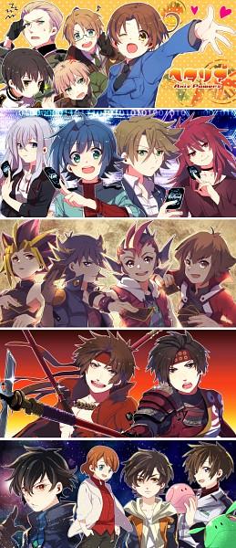 Tags: Anime, Takumi (Scya), Mobile Suit Gundam SEED, Kidou Senshi Gundam AGE, Axis Powers: Hetalia, Mobile Suit Gundam 00, Mobile Suit Gundam Unicorn, Sengoku Basara, Yu-Gi-Oh! ZEXAL, Yu-Gi-Oh! GX, Yu-Gi-Oh! 5D's, Sengoku Musou, Cardfight!! Vanguard