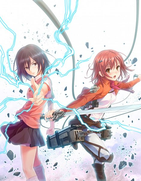 Tags: Anime, Misakamitoko0903, To Aru Majutsu no Index, Attack on Titan, Misaka Mikoto, Mikasa Ackerman, Mikasa Ackerman (Cosplay), Misaka Mikoto (Cosplay), Shingeki no Kyojin (Cosplay)