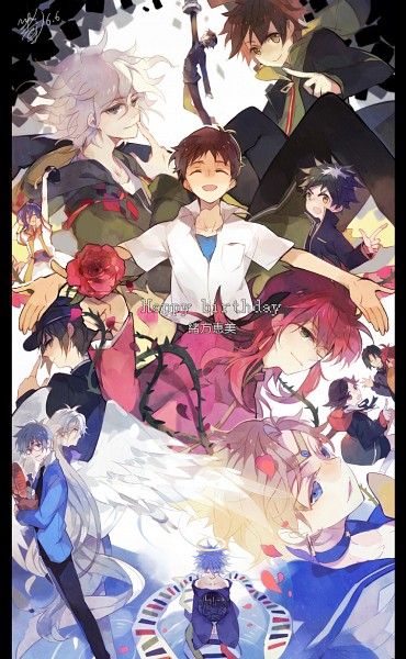 Tags: Anime, Minatsume, Cardcaptor Sakura, Bishoujo Senshi Sailor Moon, Yu Yu Hakusho, Houshin Engi, Neon Genesis Evangelion, Medaka Box, Samurai Deeper Kyo, Super Danganronpa 2, Danganronpa, Shin Megami Tensei: PERSONA 3, Angel Beats!