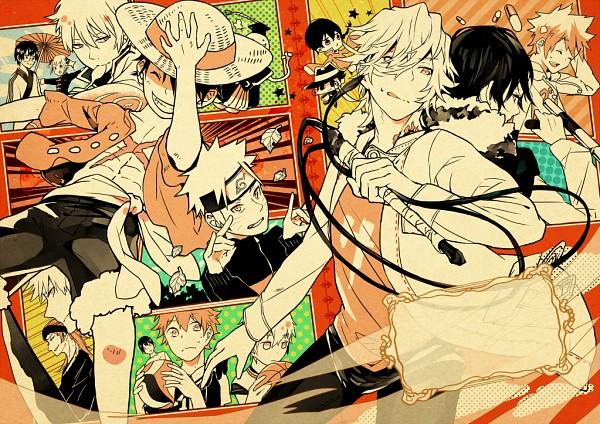 Tags: Anime, Amaoto., ONE PIECE, Kuroko no Basuke, Gintama, Katekyo Hitman REBORN!, Haikyuu!!, BLEACH, NARUTO, Abarai Renji, Kuroko Tetsuya, Fon, Kurosaki Ichigo