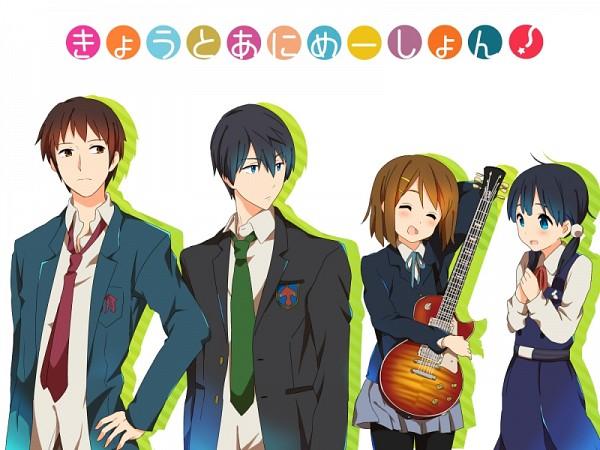 Tags: Anime, Pixiv Id 1790296, Suzumiya Haruhi no Yuuutsu, Tamako Market, K-ON!, Free!, Nanase Haruka (Free!), Kitashirakawa Tamako, Hirasawa Yui, Kyon, Company Connection, Pixiv, Fanart
