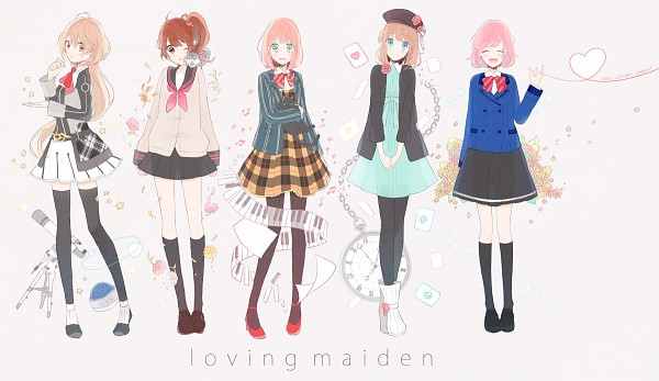 Tags: Anime, Gomi Chiri, Tokimeki Memorial Girl's Side 3rd Story, Starry☆Sky~, AMNESIA, Uta no☆prince-sama♪, BROTHERS CONFLICT, Banbi, Heroine (AMNESIA), Nanami Haruka, Juli (Brothers Conflict), Yahisa Tsukiko, Ema (Brothers Conflict)
