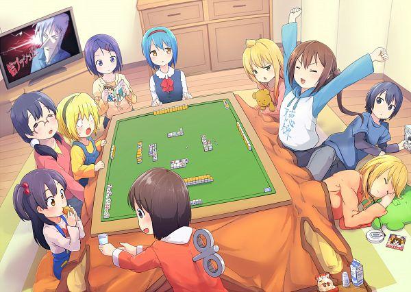 Tags: Anime, Akama Zenta, Nichijou, To LOVE-Ru, Tamako Market, Akagi, Minami-ke, Little Busters!, Higurashi no Naku Koro ni, Minami Kana, Shinonome Nano, Kitashirakawa Tamako, Minami Haruka