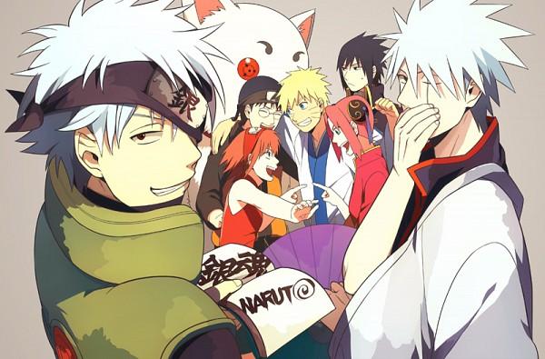 Tags: Anime, Min Tosu, Gintama, NARUTO, Uzumaki Naruto, Sakata Gintoki, Haruno Sakura, Sadaharu, Kagura (Gin Tama), Hatake Kakashi, Shimura Shinpachi, Uchiha Sasuke, Sakata Gintoki (Cosplay)