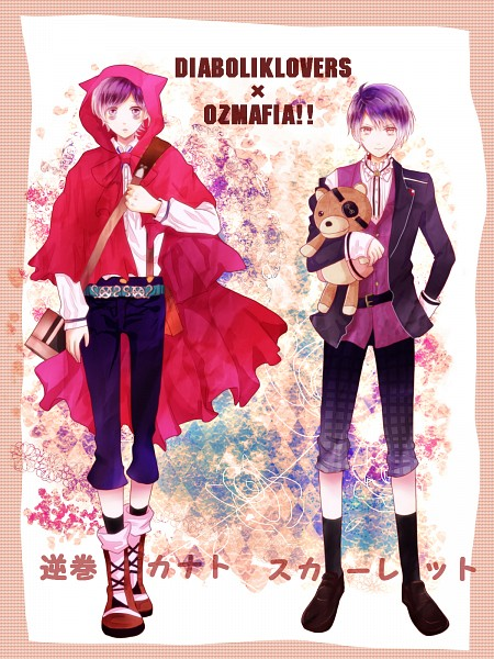 Tags: Anime, Pixiv Id 3400049, OZMAFIA!!, Diabolik Lovers ~Haunted dark bridal~, Sakamaki Kanato, Scarlet (Ozmafia!!), Pixiv