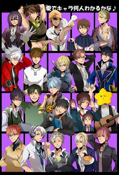 Tags: Anime, Itokena Hiroshi, Arakawa Under the Bridge, Danshi Koukousei no Nichijou, SKET Dance, Suzumiya Haruhi no Yuuutsu, K Project, JoJo no Kimyou na Bouken, Inu x Boku SS, Gintama, Baccano!, Hachimitsu to Clover, Tsuritama