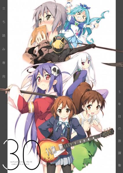 Tags: Anime, Kantoku, Ta (Pixiv1671291), Arakawa Under the Bridge, K-ON!, Suzumiya Haruhi no Yuuutsu, Working!!, Kami nomi zo Shiru Sekai, Heartcatch Precure!, DURARARA!!, Katanagatari, Tachiyomi Senyou Vol.30, Nagato Yuki