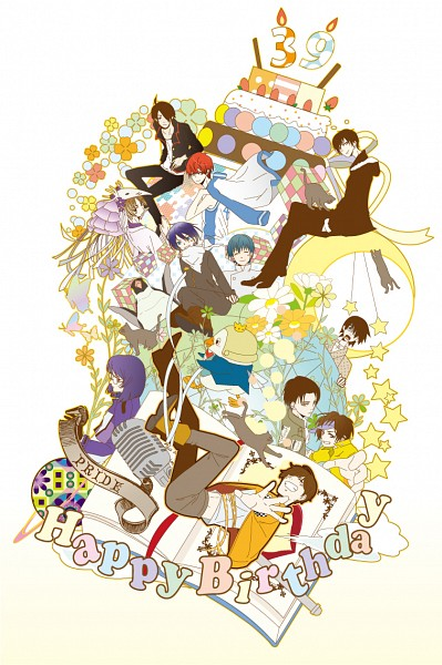 Tags: Anime, Pixiv Id 5329022, Noragami, Working!!, Monogatari, Shirokuma Cafe, Dear Girl ~stories~, Kuroko no Basuke, Sayonara Zetsubou Sensei, Attack on Titan, DURARARA!!, Natsume Yuujinchou, Yondemasuyo Azazel-san