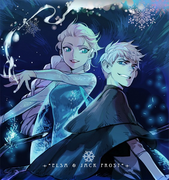 Tags: Anime, shishio*, Rise of the Guardians, Frozen (Disney), Jack Frost, Elsa the Snow Queen, Dreamworks, Disney, Jelsa