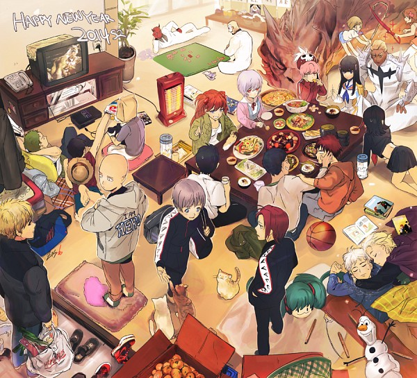 Tags: Anime, ZIS, ONE PIECE, KILL la KILL, One Punch Man, The Lord of the Rings, Free!, Neon Genesis Evangelion, Kuroko no Basuke, Frozen (Disney), Rise of the Guardians, VOCALOID, Kiryuuin Satsuki