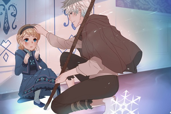 Tags: Anime, Ao-guu, Frozen (Disney), Rise of the Guardians, Jack Frost, Elsa the Snow Queen, 1200x800 Wallpaper, Fanart, PNG Conversion, Disney, Dreamworks, deviantART, Fanart From DeviantART