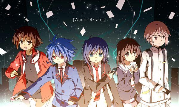 Tags: Anime, Jiang Ge, Z/X: Ignition, Link Joker Hen, Selector Infected WIXOSS, Yu-Gi-Oh! GX, Future Card Buddyfight, Yu-Gi-Oh!, Cardfight!! Vanguard, Sendou Aichi, Kominato Ruuko, Tennouji Asuka, Juudai Yuuki