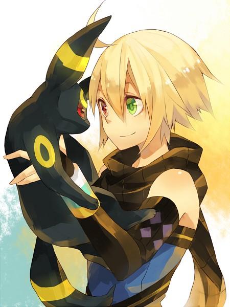 Tags: Anime, Amarisu, Tales of Symphonia, Pokémon, Emil Castagnier, Umbreon, Fanart From Pixiv, PNG Conversion, Fanart, Pixiv