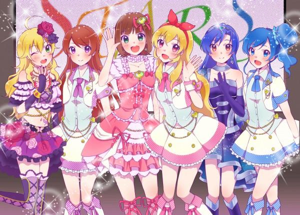 Tags: Anime, Pixiv Id 963862, Aikatsu!, THE iDOLM@STER, Kisaragi Chihaya, Hoshii Miki, Shibuki Ran, Kiriya Aoi, Amami Haruka, Hoshimiya Ichigo, Hoshimiya Ichigo (Cosplay), Shibuki Ran (Cosplay), Amami Haruka (Cosplay)