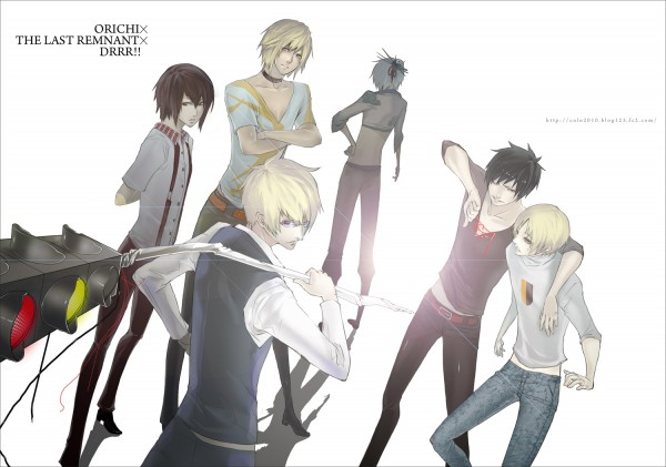Tags: Anime, SQUARE ENIX, DURARARA!!, Last Remnant, Heiwajima Shizuo, Orihara Izaya, David Nassau