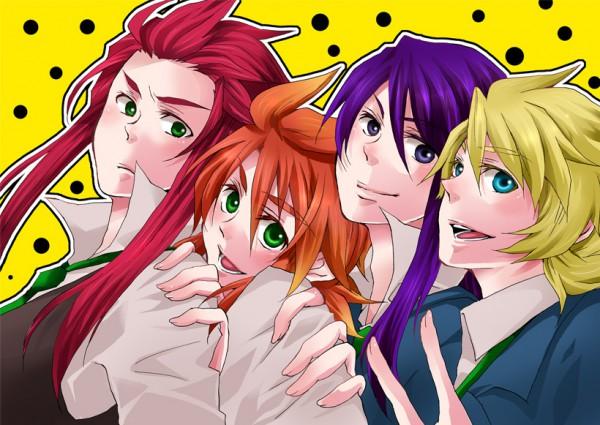 Tags: Anime, Matsuyoshi Ako, Tales of Vesperia, Tales of the Abyss, Luke fon Fabre, Flynn Scifo, Yuri Lowell, Asch the Bloody