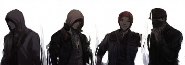 Tags: Anime, Pixiv Id 1214399, Watch Dogs, Cry of Fear, Half-Life, Infamous, Prototype, Alex Mercer, Simon Henriksson, Delsin Rowe, Aiden Pearce, Twitter Header
