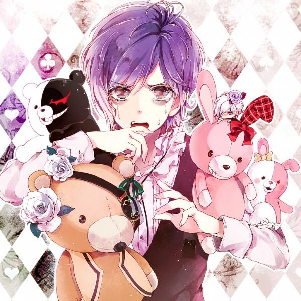 Tags: Anime, Pixiv Id 10237726, Super Danganronpa 2, Danganronpa, Diabolik Lovers ~Haunted dark bridal~, Sakamaki Subaru, Sakamaki Kanato, Monomi (Super Danganronpa 2), Monokuma, Pixiv, Fanart, Fanart From Pixiv