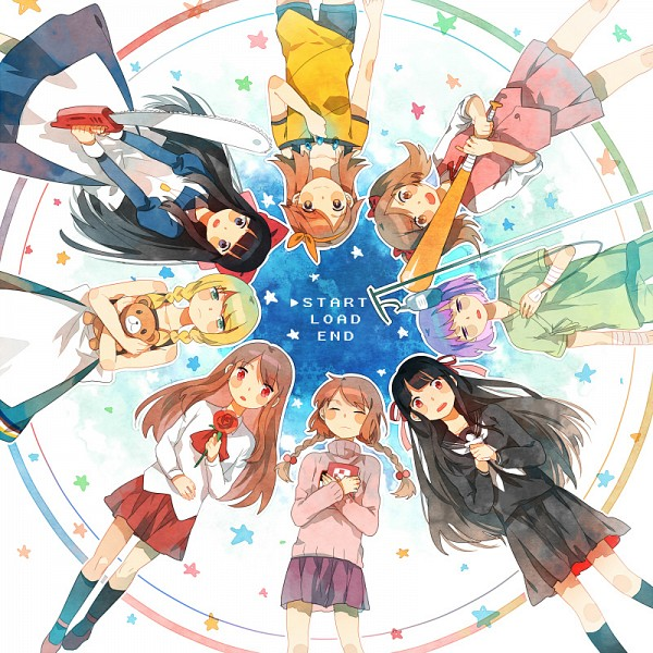 Tags: Anime, Getiao, Ib, Kirisame ga Furu Mori, Yume Nikki, Mad Father, Misao, Majo no Ie, Kaii Shoukougun, Tenteki Fighter, Aki (F), Ib (Character), Kanzaki Shiori
