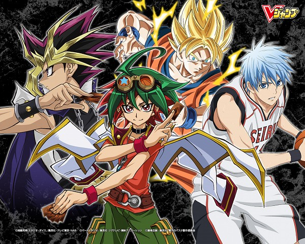 Tags: Anime, Toei Animation, Studio Gallop, Production I.G., Kuroko no Basuke, DRAGON BALL, Yu-Gi-Oh! Duel Monsters, DRAGON BALL Z, Yu-Gi-Oh! ARC-V, Yu-Gi-Oh!, Sakaki Yuya, Yami Yugi, Kuroko Tetsuya