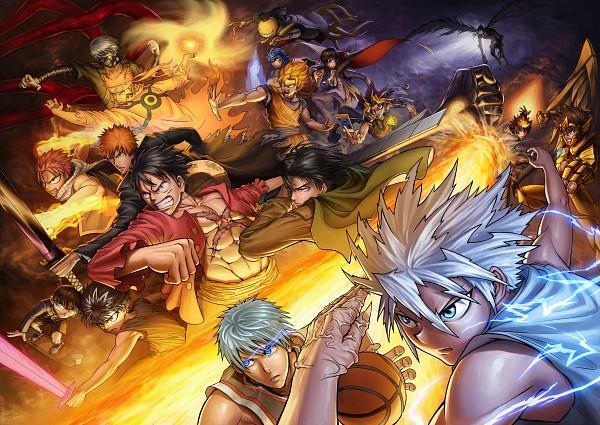 Tags: Anime, Pixiv Id 7783181, Attack on Titan, Tokyo Ghoul, Saint Seiya, Hunter x Hunter, Kuroko no Basuke, ONE PIECE, Saint Seiya Omega, FAIRY TAIL, Yu Yu Hakusho, Ansatsu Kyoushitsu, Meitantei Conan