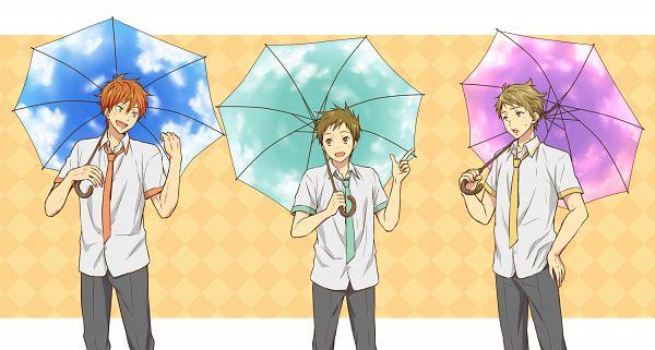 Tags: Anime, Rito, Kyoukai no Kanata, Free!, Hyouka, Fukube Satoshi, Mikoshiba Momotaro, Kanbara Akihito, Company Connection, Facebook Cover