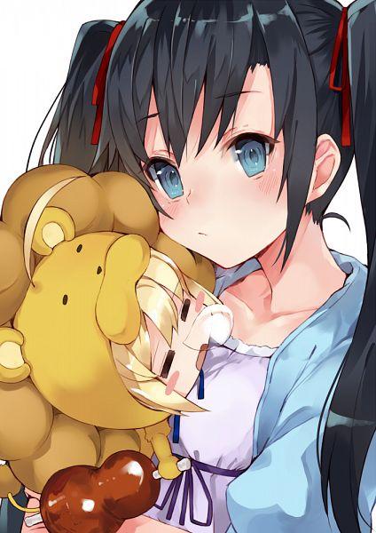 Tags: Anime, Kou Mashiro, Yahari Ore no Seishun Love Come wa Machigatteiru, Fate/tiger colosseum, Yukinoshita Yukino, Saber (Fate/stay night), Saber Lion, Lion Costume, PNG Conversion, Mobile Wallpaper