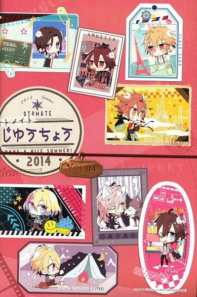 Tags: Anime, SK (Otomate), Natsume Uta, Otomate, IDEA FACTORY, Candy pot: Natsume Uta Art Book, SNOW BOUND LAND, Toki no Kizuna, RE:VICE[D], CLOCK ZERO ~Shuuen no Ichibyou~, Glass Heart Princess, Shirahana no Ori ~Hiiro no Kakera 4~, AMNESIA