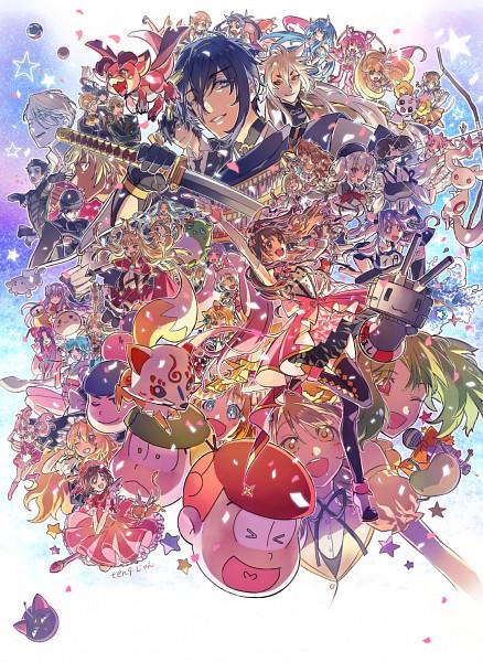 Tags: Anime, Pixiv Id 798321, Osomatsu-kun, Yuri!!! On Ice, Monogatari, Axis Powers: Hetalia, Cardcaptor Sakura, Bishoujo Senshi Sailor Moon, Mahou Shoujo Madoka☆Magica, Macross Frontier, Smile Precure!, Ranma ½, PriPara
