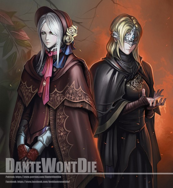 Tags: Anime, DanteWontDie, Bloodborne, Dark Souls III, Fire Keeper, Plain Doll, Ball Jointed Doll, Publisher Connection, Pixiv, Fanart, Fanart From Pixiv