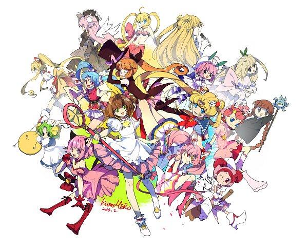 Tags: Anime, Kumomero, Bishoujo Senshi Sailor Moon, Pita Ten, Princess Comet, Mahou Shoujo Pretty Sammy, Mermaid Melody Pichi Pichi Pitch, Di Gi Charat, Cardcaptor Sakura, Kami-chama Karin, Kamikaze Kaitou Jeanne, Full Moon wo Sagashite, Mahoujin Guru Guru