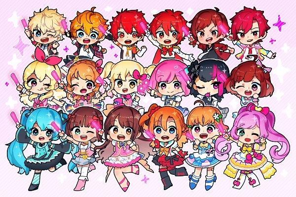 Tags: Anime, Takoballs, Aikatsu!, Aikatsu Stars!, PriPara, B-Project, Love Live!, Love Live! Sunshine!!, AKB0048, I★Chu, THE iDOLM@STER: SideM, Ensemble Stars!, Tokyo 7th Sisters