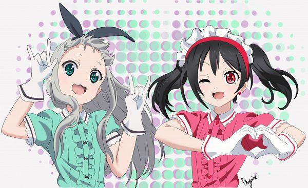 Tags: Anime, Pixiv Id 28173845, Blend S, Love Live!, Kanzaki Hideri, Yazawa Niko, Blend S (Parody)